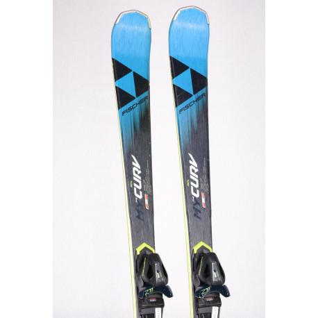 women's skis FISCHER RC4 the MY CURV 2020 + Fischer Z11 ( TOP condition )