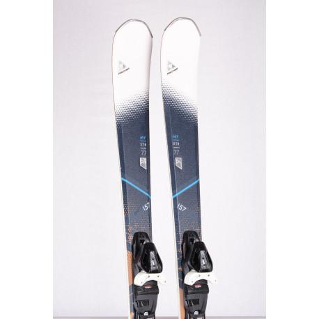 women's skis FISCHER MY XTR 77 2018, AIR tec, LIGHT woodcore, brown + FISCHER RS 10 ( TOP condition )