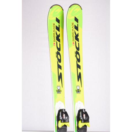 skidor STOCKLI LASER AX TFC, TURTLE SHELL, woodcore, double titan + VIST 412 ( TOP-tillstånd )