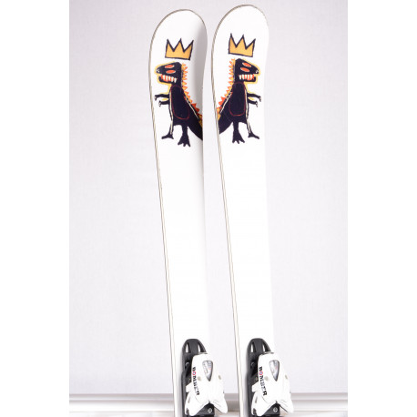 skis BOMBER DINO JEAN-MICHAEL BASQUIAT artist limited 2019 + Bomber 412 ( TOP condition )