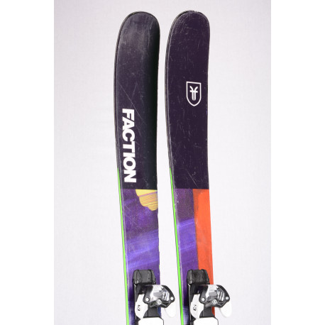 freeride lyže FACTION PRODIGY FREESTYLE 1.0 2019, Woodcore + Salomon Warden 11