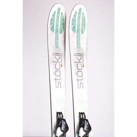 freeride skis STOCKLI STORMRIDER 100 MOTION, Woodcore, Titan + Salomon Mercury 11 ( TOP condition )