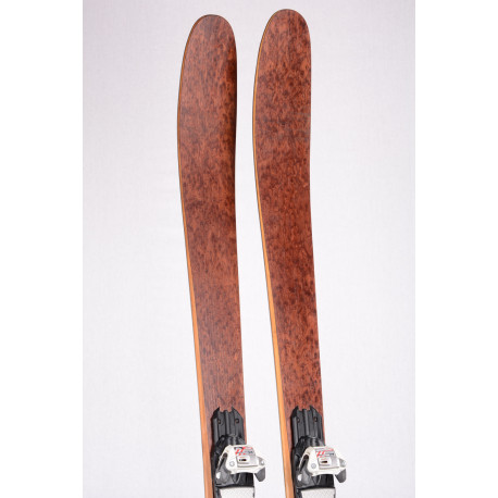 freeride skis XQZT FREETOUR 2019 HANDMADE LIMITED, CARBON, BAMBOO, VDS tape + Marker Squire 11 ( TOP condition )