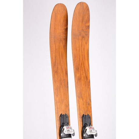 freeride lyže XQZT FREETOUR 2019 HANDMADE LIMITED, CARBON, BAMBOO, VDS tape + Marker Squire 11 ( TOP stav )