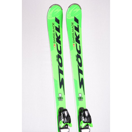 skis STOCKLI LASER SX 2018 TURTLE SHELL, woodcore, double titan + VIST 412 ( like new )