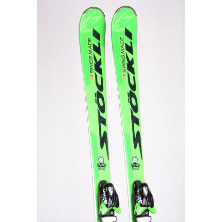 skis STOCKLI LASER SX TURTLE SHELL, woodcore, double titan + VIST 412 ( comme NEUFS )