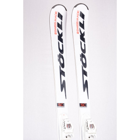 skis STOCKLI LASER SC 2019 WORLDCUP, sandwich woodcore, double titan + VIST 412 ( used ONCE )