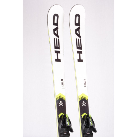 skis HEAD WORLDCUP REBELS i.SLR 2020, BLACK/white + Head PR 11 ( TOP condition )