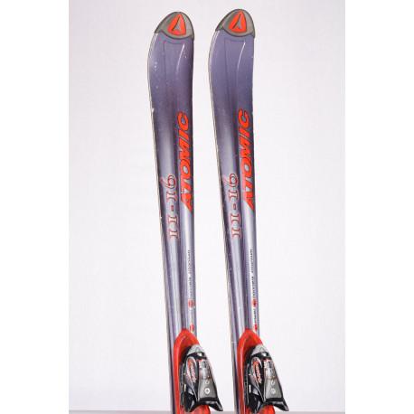skis ATOMIC BETA CARV II-16 POWER CHANNEL TITANIUM + Atomic Xentrix 412