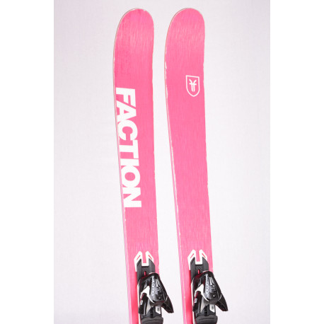 freeride lyže FACTION DICTATOR 2.0 X 2019, DUAL SPAN TITANAL + Salomon XT 12
