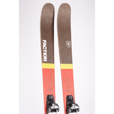 freeride lyže FACTION PRODIGY FREESTYLE 1.0 2018, Woodcore + Marker Squire 11
