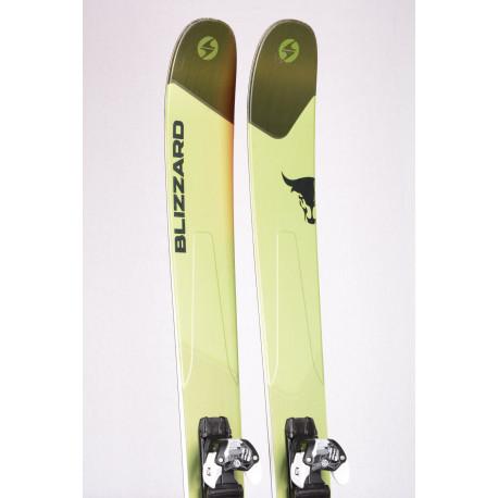freeride skis BLIZZARD RUSTLER 11 2019, CARBON FLIPCORE DRT + Marker Griffon 13