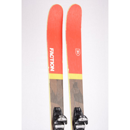 freeride lyže FACTION PRODIGY 2.0 2018, Woodcore + Marker Squire TCX 11
