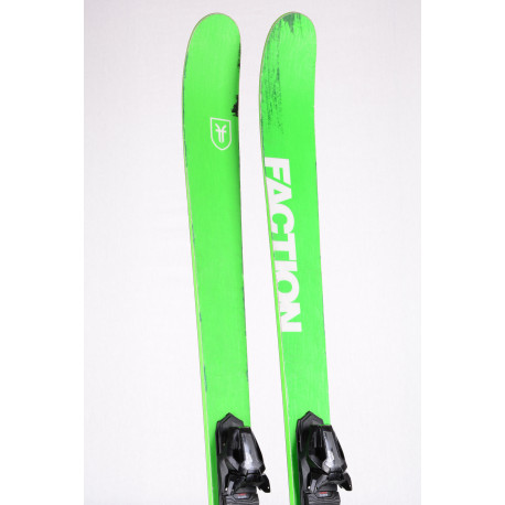 freeride lyže FACTION DICTATOR 1.0 X 2019, DUAL SPAN TITANAL + Tyrolia 12