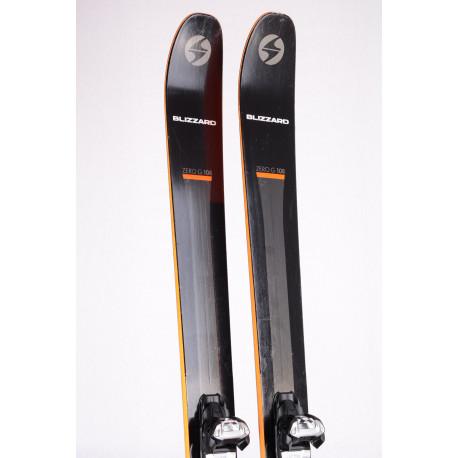 freeride skis BLIZZARD ZERO G 108 CARBON DRIVE 2019 + Marker Griffon 13 ( TOP condition )