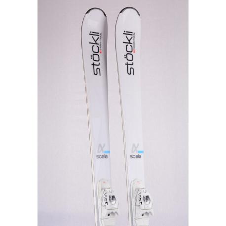 skis STOCKLI ALPHA SCALE, 2019, woodcore, titan, SWISS MADE + VIST 412 ( used ONCE )