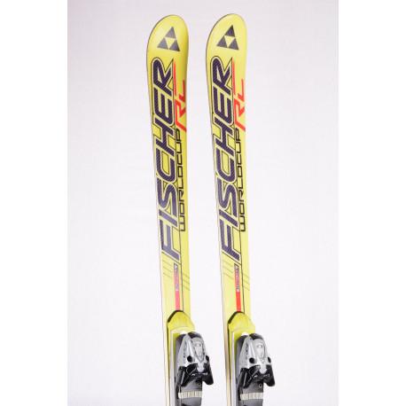 skis FISCHER RC4 WORLDCUP RC FLOWFLEX, Titanium, Woodcore + Fischer XTR 13