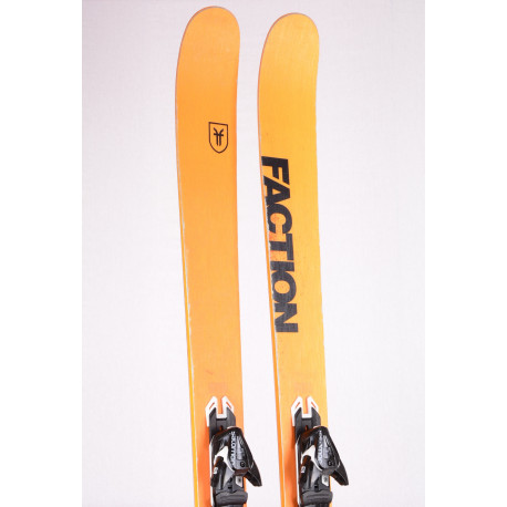 freeride lyže FACTION DICTATOR 3.0 2019, DUAL SPAN TITANAL + Salomon XT 12