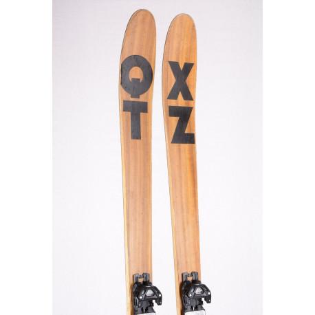 freeride skis XQZT FREETOUR 2019 HANDMADE LIMITED, CARBON, BAMBOO, VDS tape + Tyrolia Atak 13
