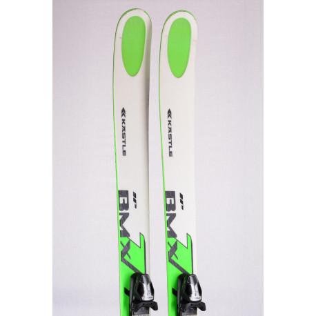 freeride skis KASTLE BMX 105 DUAL RISE, titan, Woodcore + Tyrolia SP 12