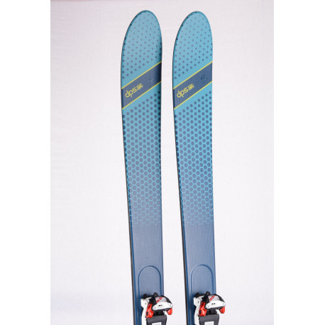 touring freeride skis DPS ALCHEMIST 106 FULL CARBON 2020 + Marker Tour 10 ( used ONCE )