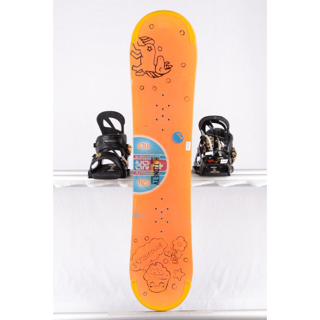 detský/juniorský snowboard BURTON 13 orange, Unicorn Limited edition, CAMBER/flat ( TOP stav )