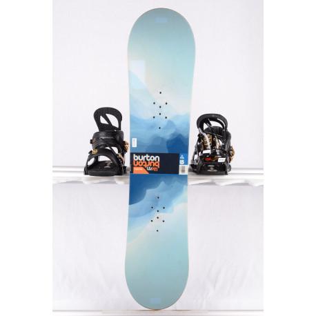 detský/juniorský snowboard BURTON LTR, BLUE, WOODCORE, CAMBER/flat ( TOP stav )