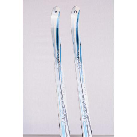 bežecké lyže TECNO PRO NC SAFINE MAJESTIC blue/white + Atomic SNS