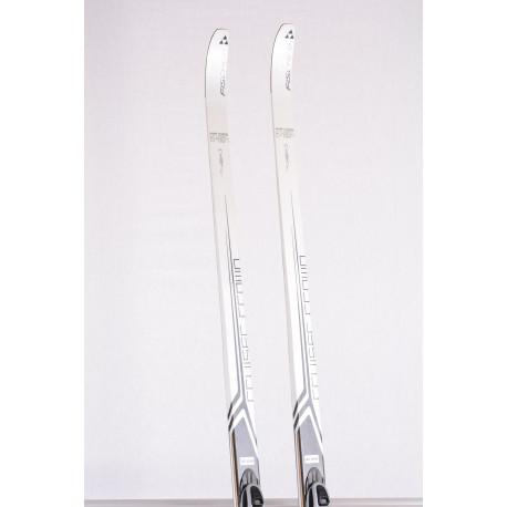 bežecké lyže FISCHER CRUISER CROWN, NORDIC cruing, grey/black + Fischer SNS
