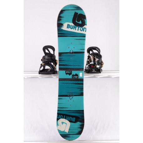 snowboard BURTON PROGRESSION LTR STREAK, TURQUOISE/black, WOODCORE, sidewall, CAMBER/flat ( TOP stav )
