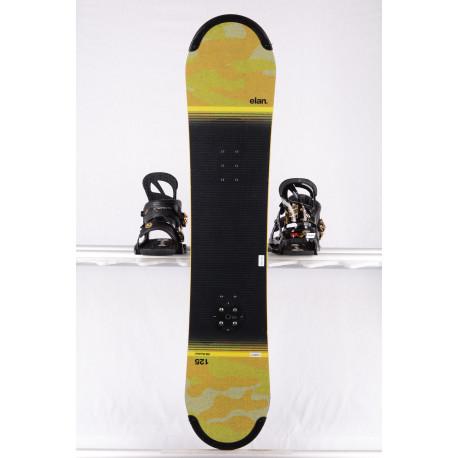 detský/juniorský snowboard ELAN RS ROCKER 2018, yellow/black, woodcore,carbon, handmade, ALL terrain, ROCKER ( TOP stav )