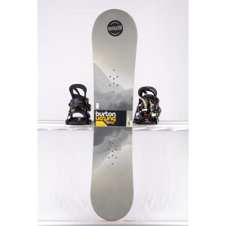 snowboard BURTON LTR WIDE, GREY, WOODCORE, sidewall, CAMBER