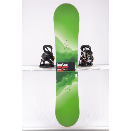 snowboard BURTON LTR, GREEN, WOODCORE, sidewall, CAMBER ( TOP condition )