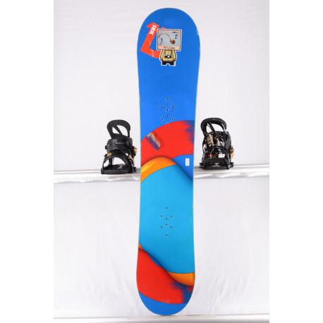 detský/juniorský snowboard BURTON CUSTOM SMALLS, FLYING-V, BLUE/red, WOODCORE, sidewall, HYBRID/rocker