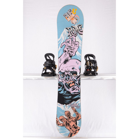 detský/juniorský snowboard ROME SDS LABEL, WOODCORE, sidewall, CAMBER