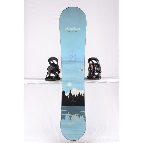 snowboard BURTON PROGRESSION CRUZER BLUE, WOODCORE, sidewall, CAMBER ( TOP condition )