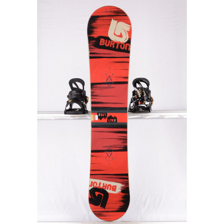 snowboard BURTON PROGRESSION LTR STREAK, RED/black, WOODCORE, sidewall, CAMBER