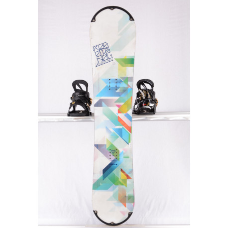 snowboard ROSSIGNOL ALIAS RSP WHITE/green, WOODCORE, sidewall, ROCKER