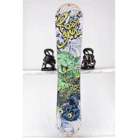 snowboard ROSSIGNOL ALIAS WHITE/green/blue, woodcore, sidewal, ROCKER