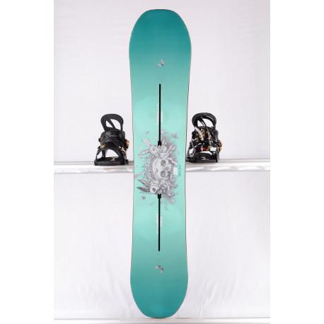 placa snowboard femei BURTON TALENT SCOUT, WOODCORE, sidewall, The channel, Purepop CAMBER ( stare TOP )
