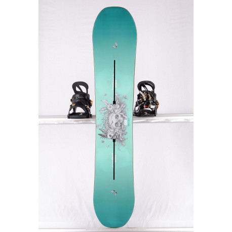 tabla snowboard mujer BURTON TALENT SCOUT, WOODCORE, sidewall, The channel, Purepop CAMBER ( condición TOP )