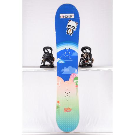 children's/junior snowboard BURTON PUNCH, BLUE/green, WOODCORE, sidewall, CAMBER