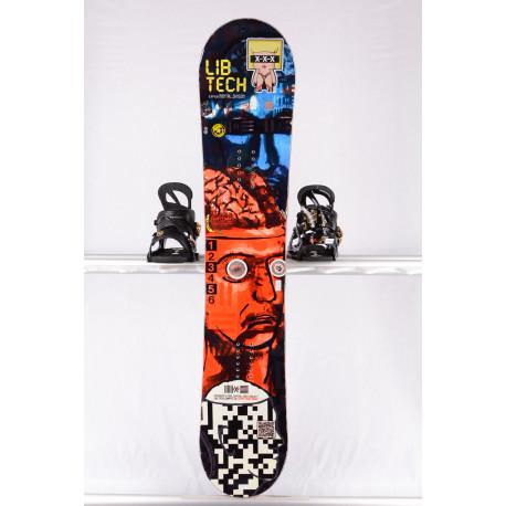 snowboard LIB TECH BOX SCRATCHER BURTNER, BTX BANANA, WOODCORE, sidewall, HYBRID/rocker