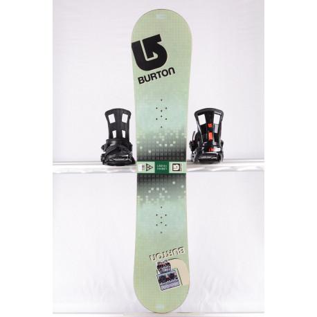 snowboard BURTON LTR BLOCK, GREEN, WOODCORE, sidewall, CAMBER ( TOP stav )