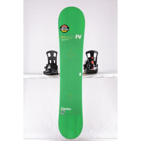 snowboard BURTON CUSTOM SMALLS WIDE, FLYING V, WOODCORE, SIDEWALL, HYBRID/rocker
