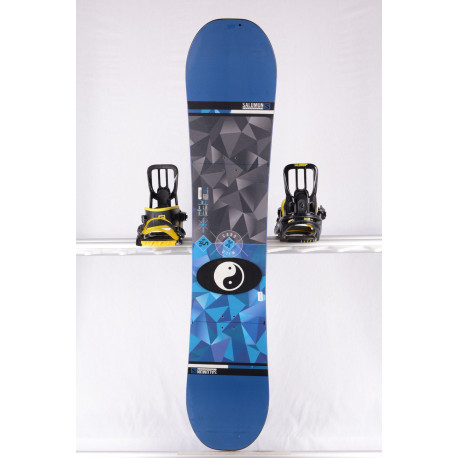 snowboard SALOMON WILD CARD 2018, blue/black, ALL terrain, woodcore, FLAT/rocker ( TOP stav )