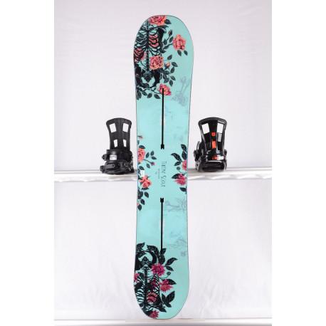 dámsky snowboard BURTON TALENT SCOUT, BLUE/flowers, WOODCORE, SIDEWALL, The channel, Purepop CAMBER ( TOP stav )