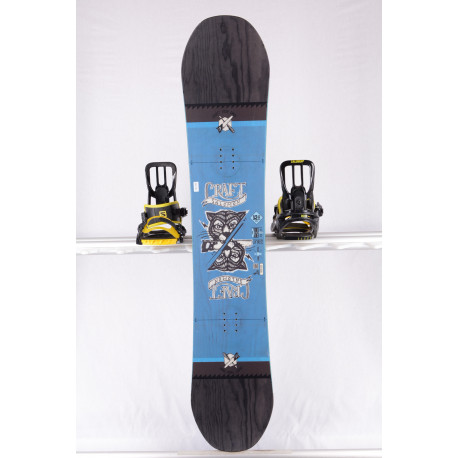 snowboard SALOMON CRAFT, BLACK/blue, WOODCORE, CAMBER ( TOP stav )