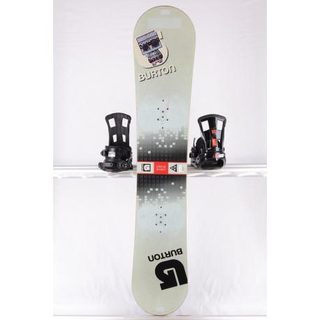 snowboard BURTON LTR BLOCK, GREY, WOODCORE, sidewall, CAMBER ( TOP stav )