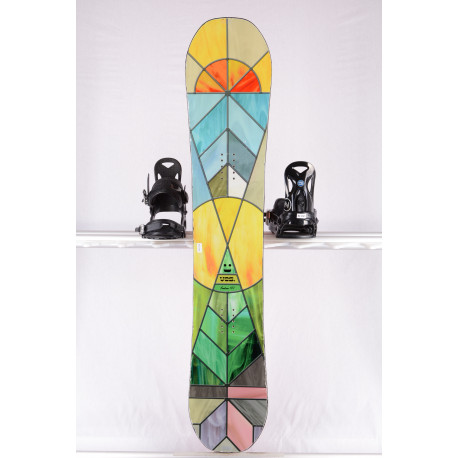 dámsky snowboard YES EMOTICON, WOODCORE, sidewall, HYBRID/camber